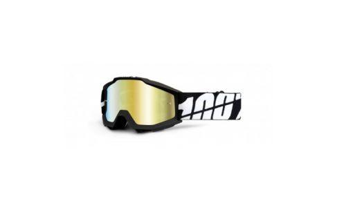 ACCURI KID - Tornado black - Mirror silver lens